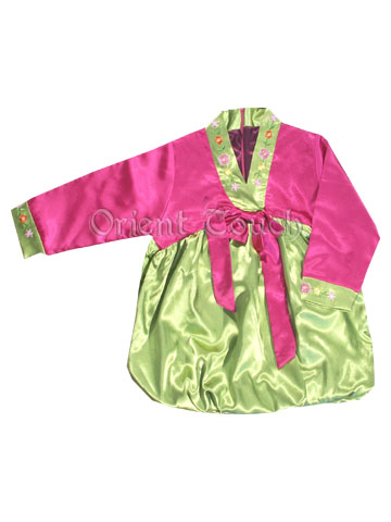 Bargain Item - Girl's Korean Hanbok