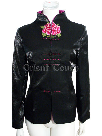 Bargain Item - Charming Peony Embroidery Jacket