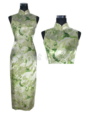 Bargain Item - Summer Goddess Silk Cheongsam