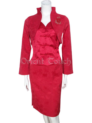 Bargain Item - Modified Chinese Bridal Wedding Suit