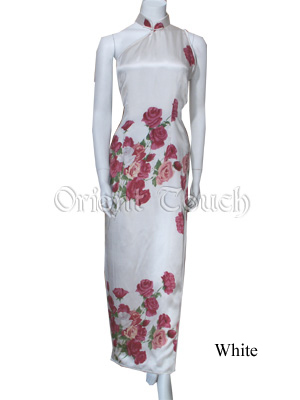 Bargain Item - Asymmetric Silk Cheongsam