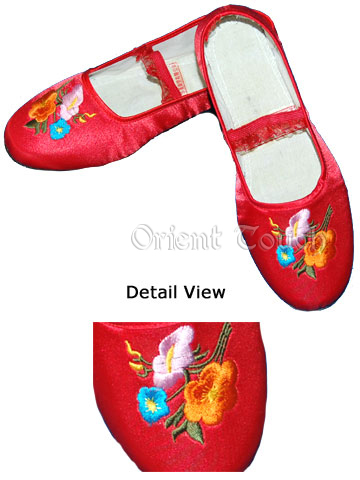 Bargain Item - Girl's Embroidery Shoes