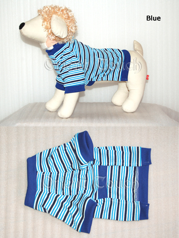 Doggie Clothing - T-shirt with Stripes