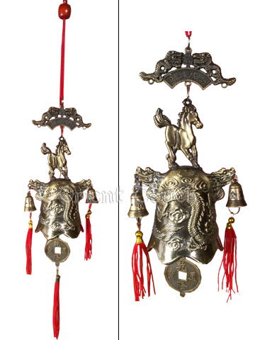Wind Chime - Horse Dragon Bell