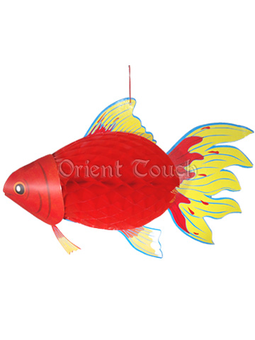 Paper-cut Red Fish