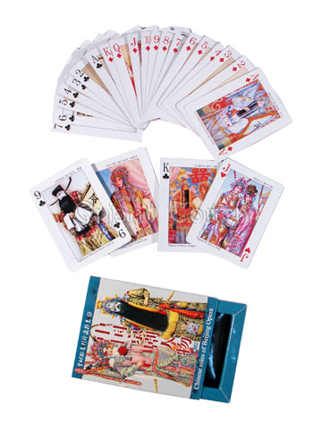 Chinese Culture Playing Cards