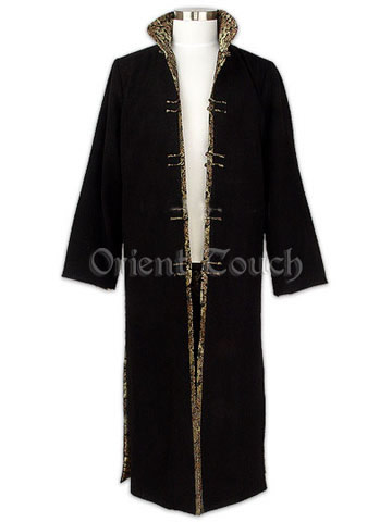 Aristocratic Mandarin Long Coat