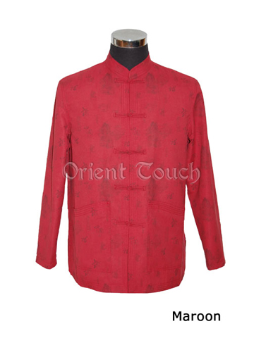 Noble Chinese Jacket - Chinese Painting with Dragon Printing