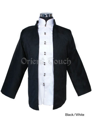 Masculine Royal Kung Fu Shirt and Jacket Set