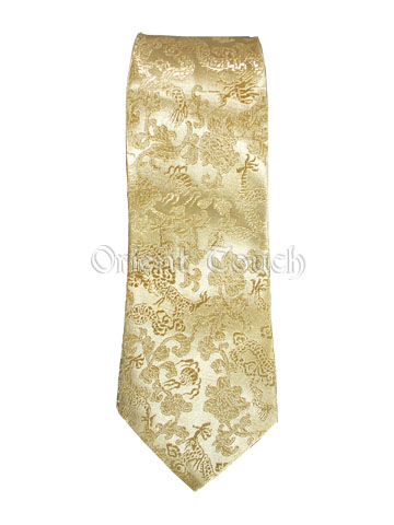 Brocade Dragon Tie