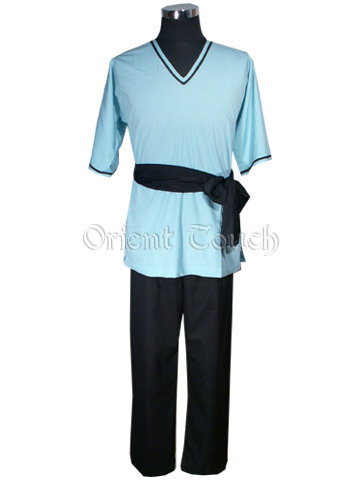 Short-Sleeved Kung-Fu Uniform