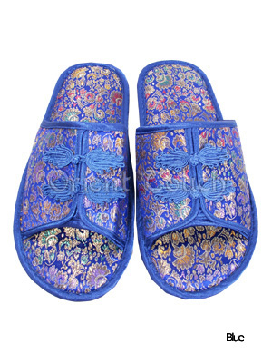 Men's Brocade Slippers