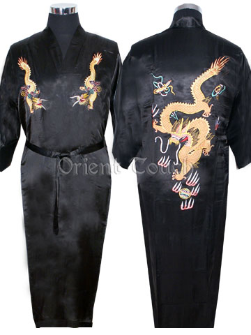 Flying Dragon Embroidery Robe