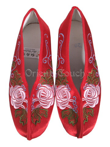 Girl's Embroidery Shoes