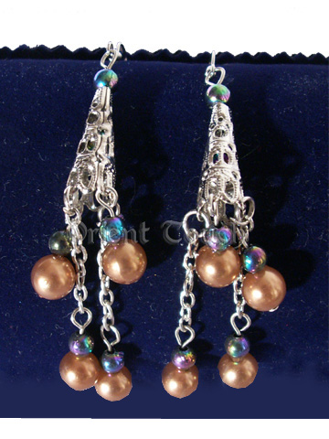 Sparkling Beads Earrings