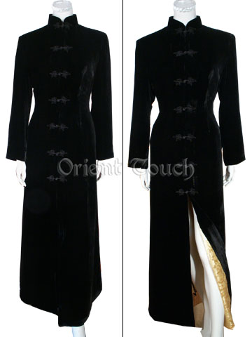 Oriental Luxurious Long Coat