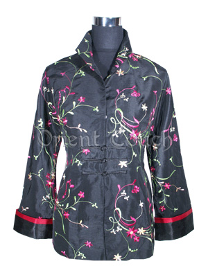 Chromatic Floral Jacket