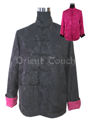 Chinese Double Fish Reversible Jacket