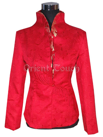 Cheerful Roses Wedding Jacket