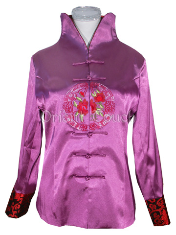 Beaming Festival Floral Embroidery Jacket