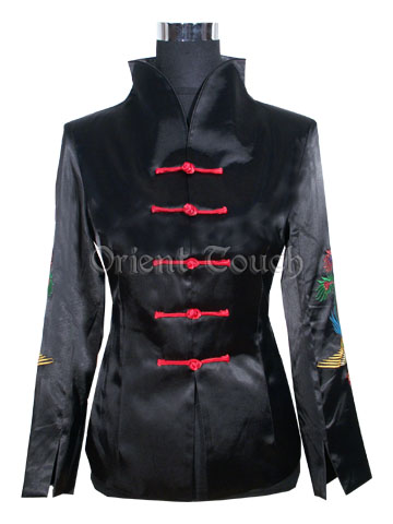 Women's Embroidery Jacket - Dancing Phoenix
