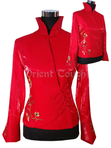 Women's Embroidery Jacket - Prosperous Morning Glory