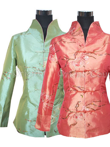 Spring Seduction Women's Thai Silk Jacket