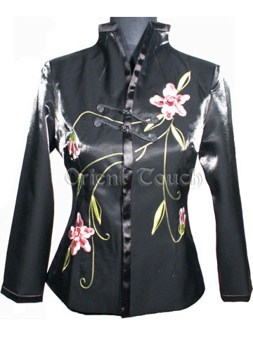 Rayon Embroidery Jacket - Blooming Daffodil
