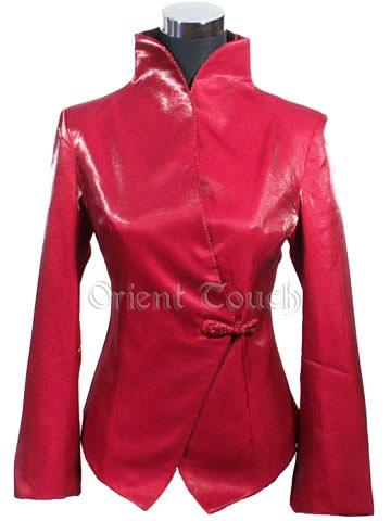Rayon Jacket - China Red