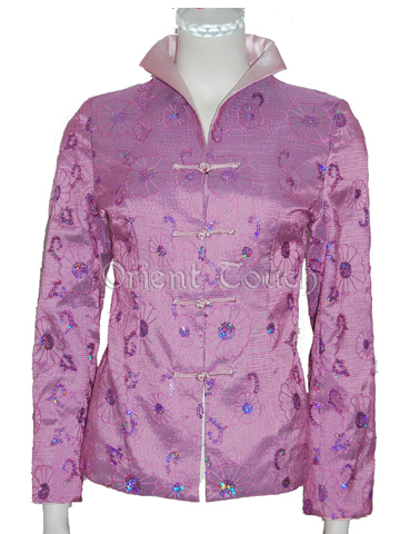 Women's Jacket - Paillettes & Embroideries