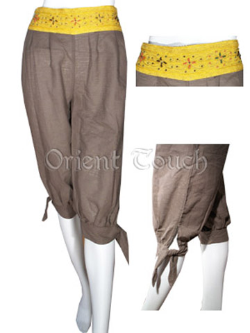 Ethnic Apparel - Breeches with Beads Waistband