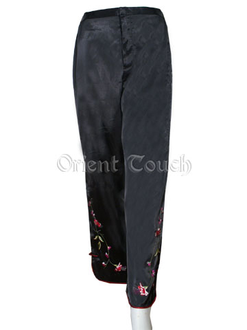 Elegant Oriental Embroidery Pants