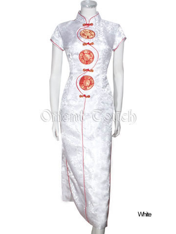 """Oriental Greetings"" Wedding Dress"