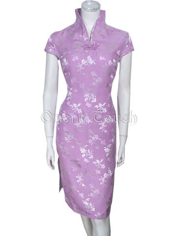 Flowers of Desire Silk Dress