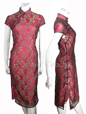 Mandarin Charm - Fascination Lace Cheongsam