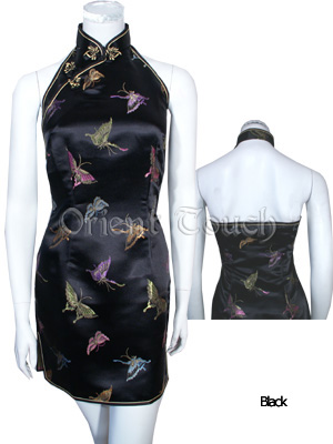 Girlhood Butterfly Mini Cheongsam