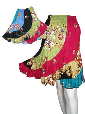 Ethnic Apparel - Kinky Floral Skirt