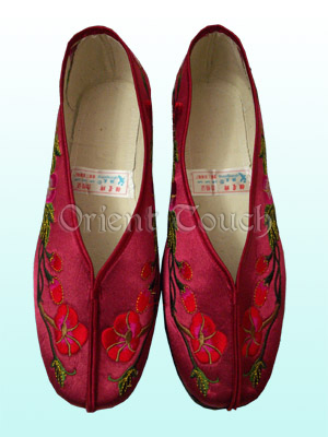 Water Lily Embroidery Shoes