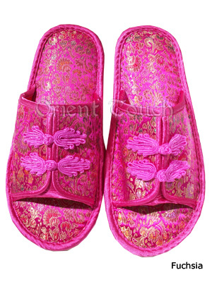 Women's Brocade Slippers