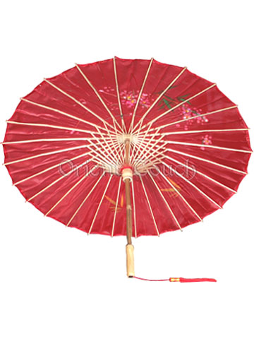 Romantic West Lake Umbrella - Red